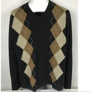 Concepts by Claiborne Brown Pullover Sweater Large